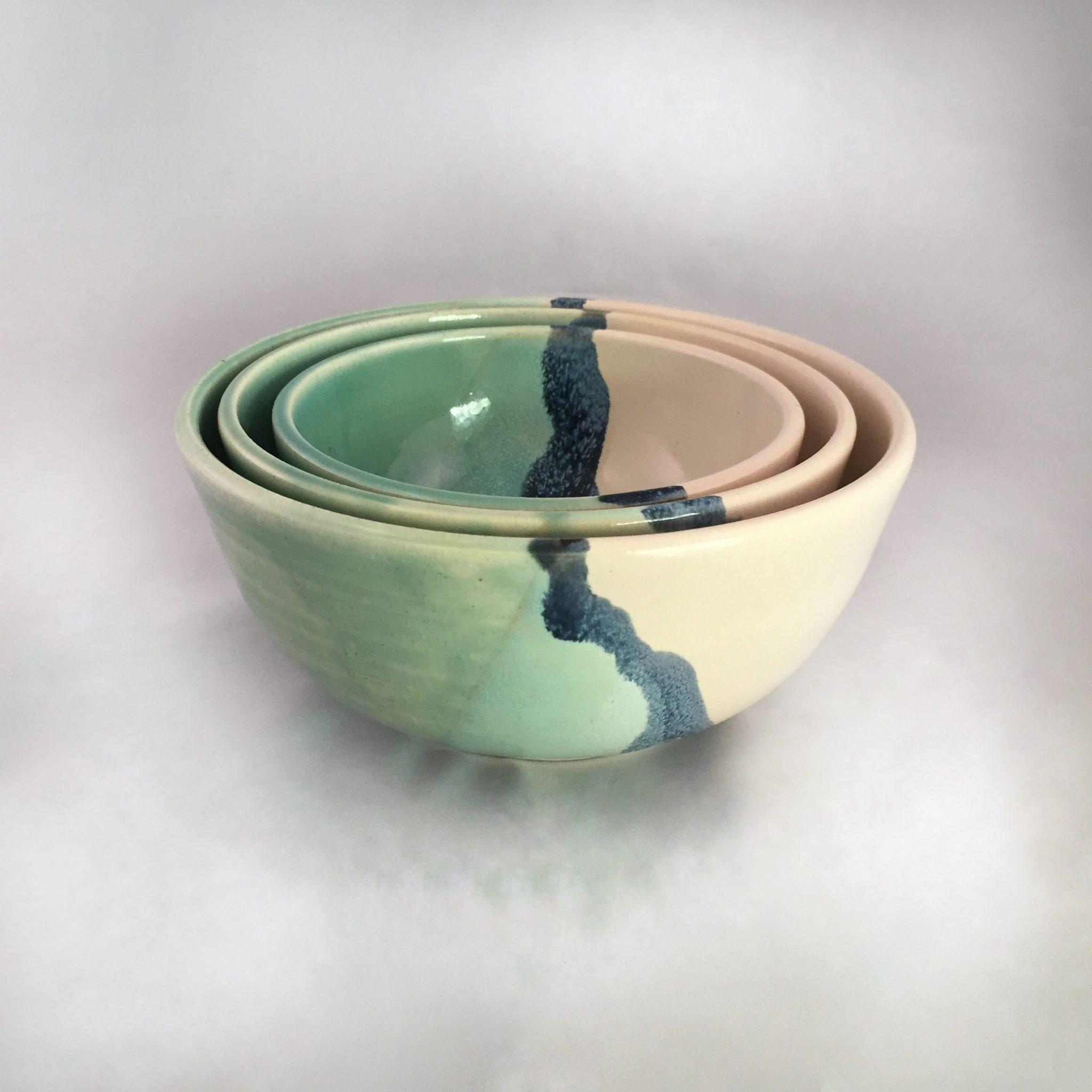 A green bowl