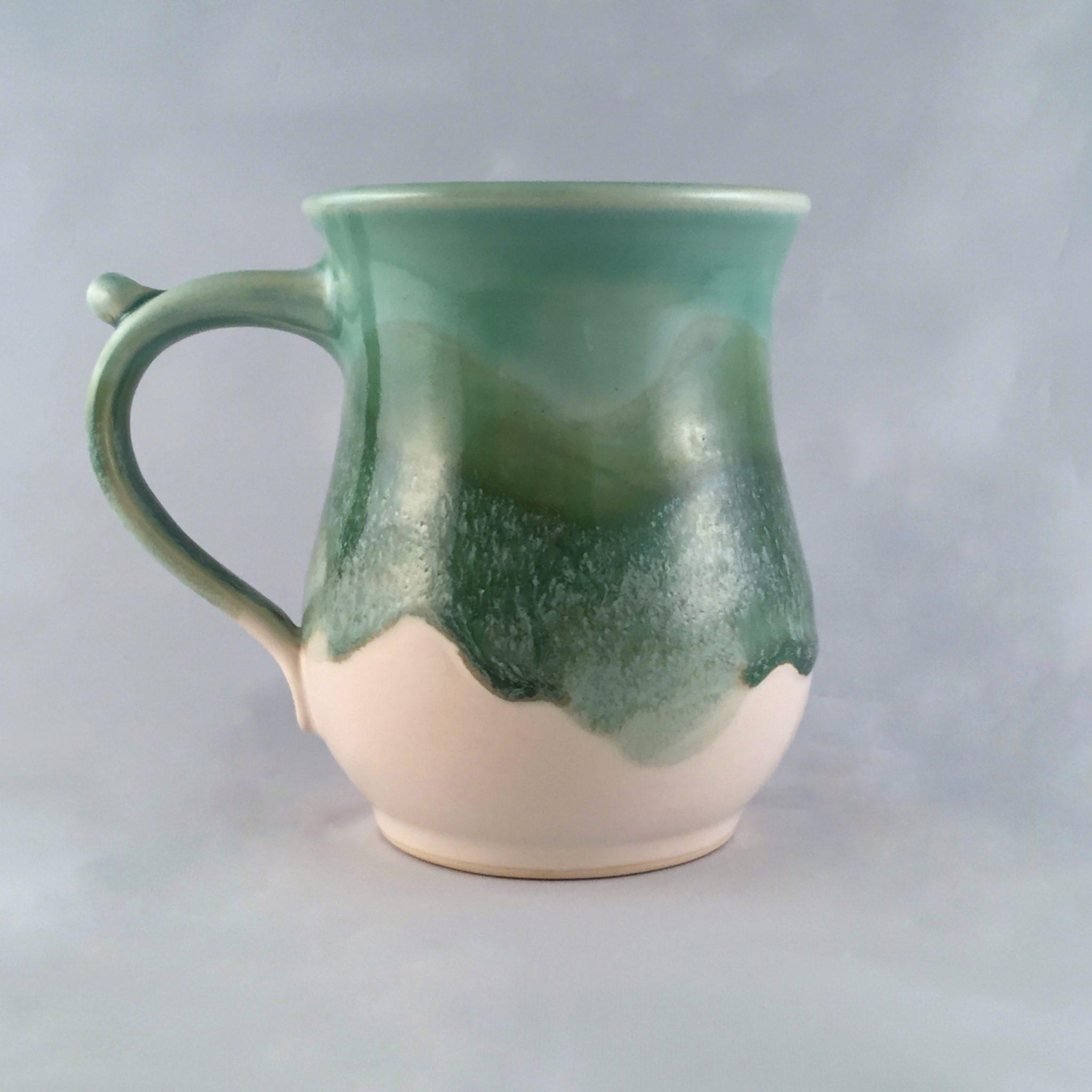 a seagreen mug